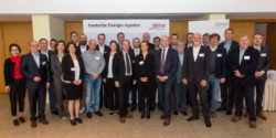 Image: participants and partners of the first workshop; copyright: dena