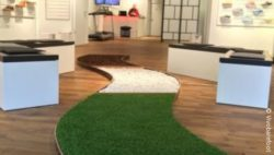 Photo: barefoot path at vivobarefoot Flagship Education Store; © vivobarefoot