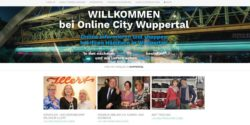 Photo: Screenshot homepage 'Online-City Wuppertal'