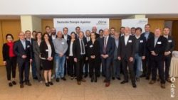 Image: participants and partners met at the first workshop; copyright: dena