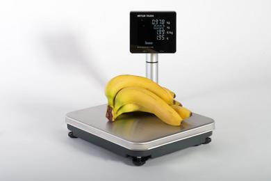 Live demonstrations at EuroShop 2014: The Ariva-S stand-alone checkout scale in combination with the new Ariva Text Display