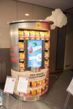 "Photo: display solution ""Maggi"" at EuroCIS 2016; © Jan Vogl/POPAI"