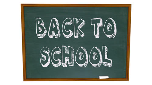 "Picture with text ""Back to School"""