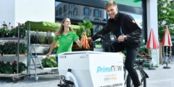 Photo: Amazon Prime Now bike courier; copright: Amazon