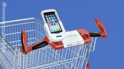 Photo: smartphone docking station; copyright: systec POS-Technology