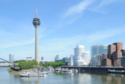 Photo: Düsseldorf harbour