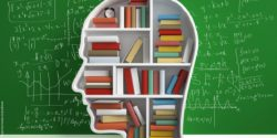 Image: Head full of books; copyright: panthermedia.net/peshkova