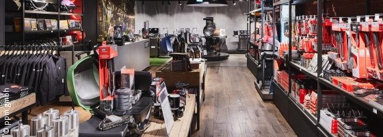 Photo: Weber Original Store in Berlin; copyright: ppm gmbh