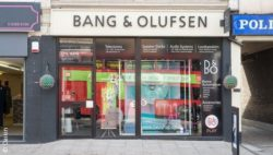 Image: Bang & Olufsen store at Bexleyheath, UK; copyright: Daikin