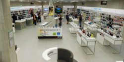 Photo: overview of lower level at Saturn Connect; copytight: iXtenso/Günther