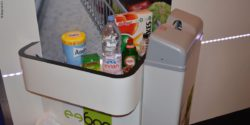 Photo: bag dispenser for checkout zone; © Beep UK LPC