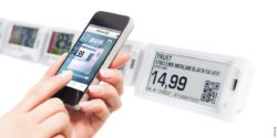 Photo: Electronic Shelf Labels by Pricer; © Pricer