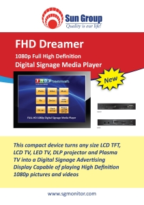 Media Player, 1080P Full HD Media Player
