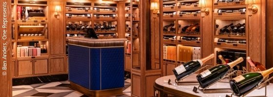 Wine department in the Harrods Store; copyright: Ben Anders, One Represents