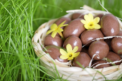 Photo: Chocolate Easter eggs