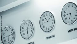 Image: A lot of clocks at a wall; Copyright: Imperial Logistics International
