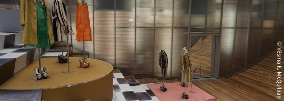 Fashion Spaces: Prada Epicenter New York Broadway; © Vésma K. McQuillian