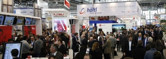 Photo: Exhibitors at EuroShop 2014; copyright: Messe Düsseldorf/ctillmann