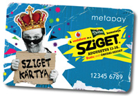 The Sziget festival card