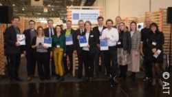 Photo: Winners of the Innovation Award by AIT; copyright: AIT