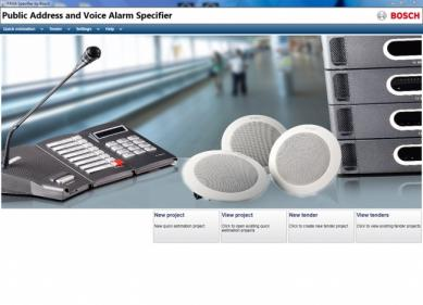 Bosch_Specifier Software