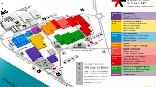 Picture: Hall Plan EuroShop 2017