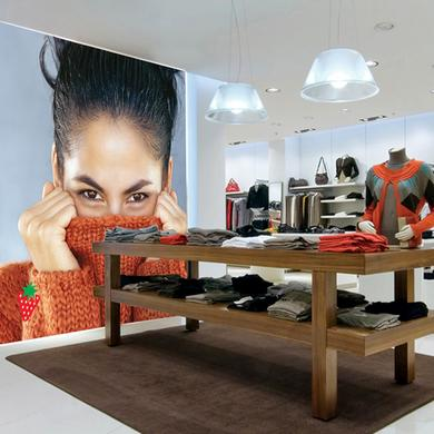 LitexFrame Fabric Light Box for Retail Store Design