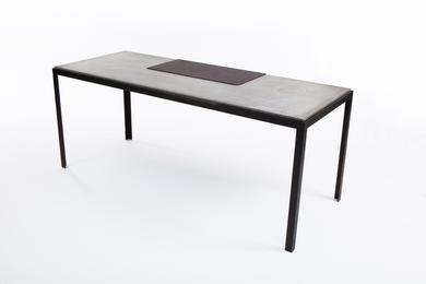 """Talos"" lightweight concrete table"
