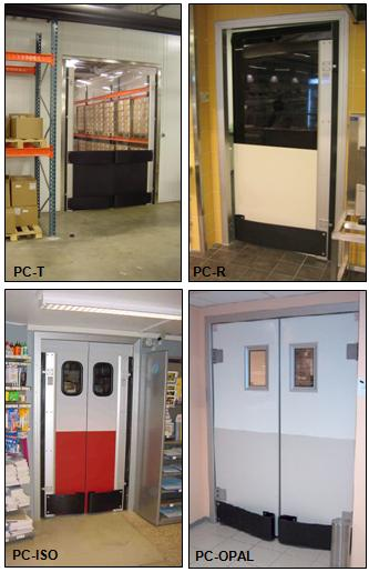 4 different types of swing doors from Maingate Danmark